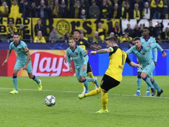 Barcelona v Dortmundu přečkala penaltu a na úvod LM hrála 0:0