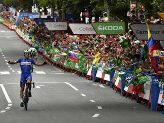 Štybar na Vueltě marně útočil, rovinatou etapu vyhrál Gilbert