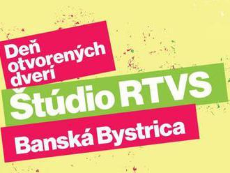 Štúdio RTVS v Banskej Bystrici otvorí v sobotu svoje brány