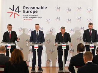 Premiéři visegrádské čtyřky podpořili rozšíření EU o země západního Balkánu