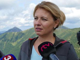 Prezidentka zatiaľ nepovedala, či novelu o ochrane prírody podpíše