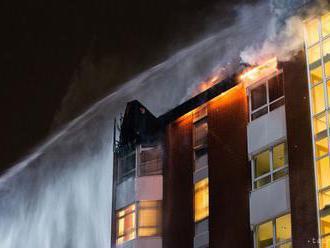 Nemocnicu v Riu de Janeiro zachvátil požiar, budovu museli evakuovať