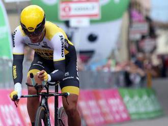 Vuelta: Francúz Cavagna víťazom 19. etapy, na čele stále Roglič