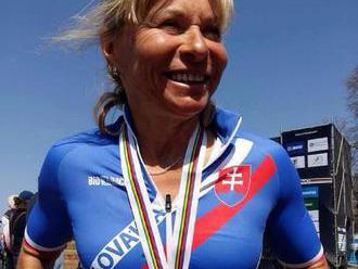 Paracyklistika: Oroszová získala na MS bronz v časovke