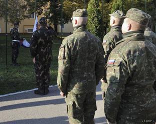 Profesionálni vojaci oslávia Deň Ozbrojených síl SR