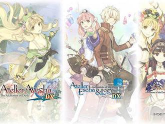 Oznámena kompilace Atelier Dusk Trilogy Deluxe Pack
