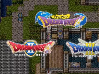 První tři díly série Dragon Quest vyjdou na Switchi