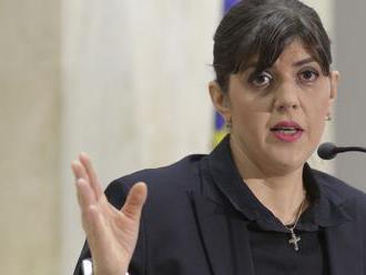 EU jmenovala rumunskou bojovnici proti korupci šéfkou nově založené prokuratury EU