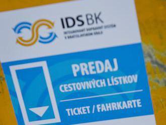 Počas týždňa mobility Bratislava zlacní lístky na mestskú hromadnú dopravu