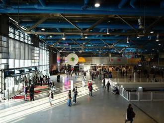 Muž poškodil nožom jeden z obrazov v Centre Pompidou