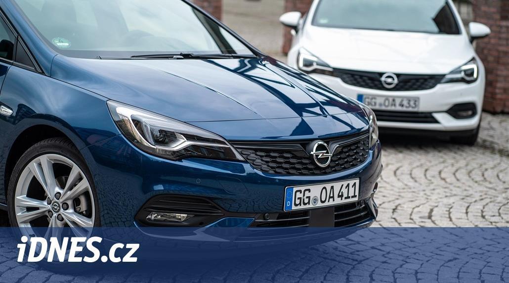 Opel Astra je z půlky nový, vypadá ale stejně