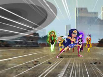 Cartoon Network představuje seriál DC Superhrdinky