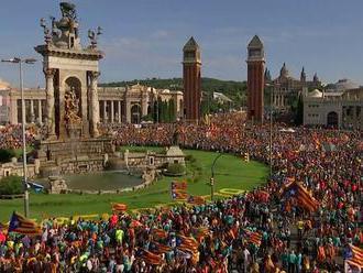 Catalonia Spain: Barcelona Diada annual march draws smaller crowd