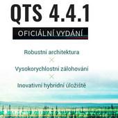 QNAP uvádí na trh NAS systém QTS 4.4.1 s novým linuxovým jádrem