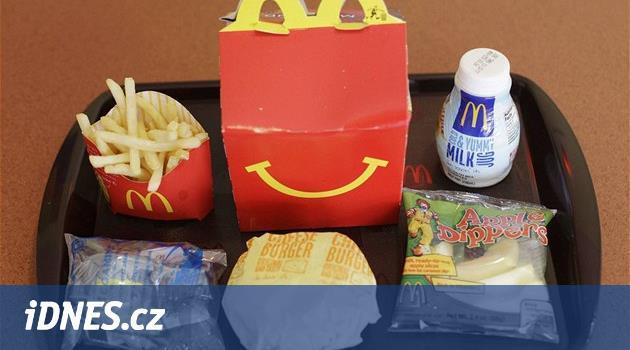 Dětské menu bez hračky. McDonald´s a Burger King šetří životní prostředí