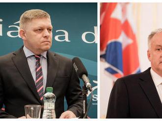 Spor Kiska - Fico: polícia zastavila vyšetrovanie
