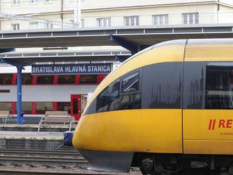 ZSSK vypraví vlaky zo stanice Bratislava - Nové Mesto
