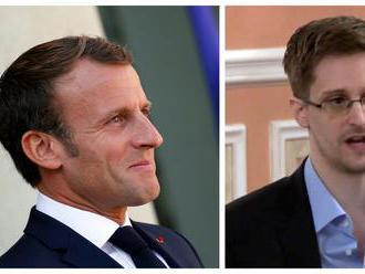 Snowden požiadal Macrona, aby mu udelil azyl vo Francúzsku