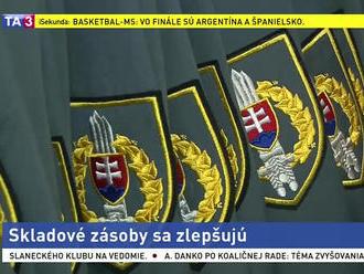 Ministerstvo otvorilo zásobovacie sklady, vojaci sú spokojní