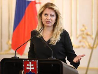 Prezidentka Čaputová negarantuje, že automaticky vymenuje zvoleného kandidáta na šéfa NS