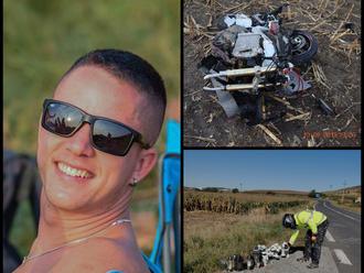 FOTO Zbytočná smrť Atillu  , motorkárovi nedal prednosť nákladiak: Zo slov blízkych láme srdce