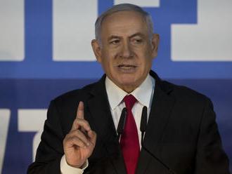 Netanjahu sľubuje, že ak vyhrá voľby zabezpečí anexiu židovských enkláv