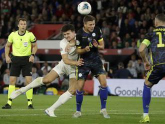 """Anglicko a Kosovo odohrali bizarný zápas v kvalifikácii o Euro 2020, zrodil sa """"hokejový"""""""