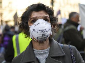 Klimatickí aktivisti v Prahe vyjadrili solidaritu s Austráliou