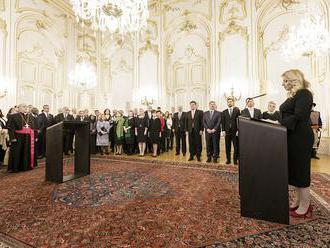 Prezidentka: Rok 2020 by mal byť rokom zmierenia a dialógu medzi krajinami
