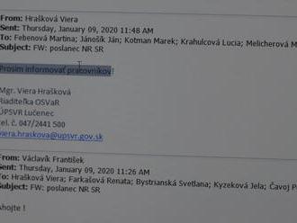 Podnety kvôli kampani: Na úrade práce v Lučenci spôsobil rozruch pracovný email