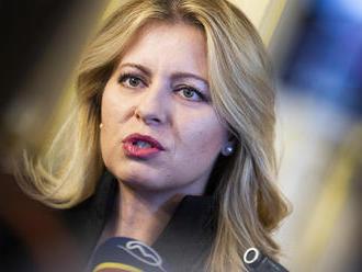 Prezidentka: Správa o zadržaní Trnku je pre Slovensko prelomová