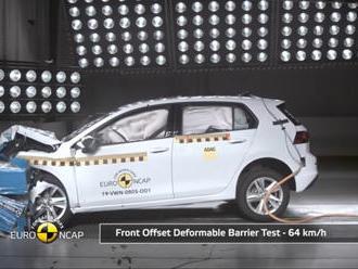 8. generácia VW Golf Euro NCAP testy prešla s najlepším výsledkom