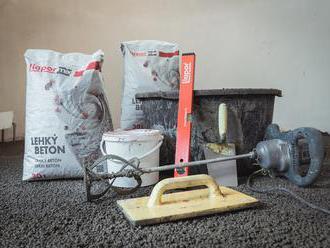 Lehčí rekonstrukce s lehkým betonem