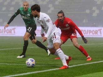 Sassuolo po gólové smršti v závěru remizovalo s FC Turín