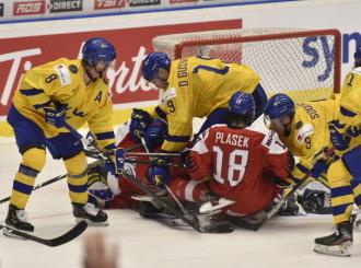 Prvním soupeřem hokejové dvacítky na MS bude Švédsko