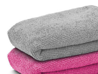 Univerzálna utierka z mikrovlákien 2 ks / balenie. Znižuje používanie prípravkou na umývanie.