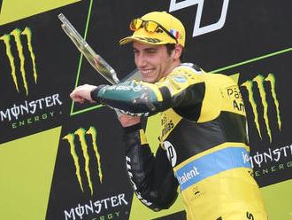 Španieli triumfovali na VC Aragónska MotoGP, vyhral Rins