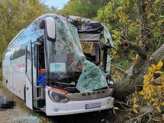 Pri rannej nehode na ceste medzi obcami Cerová a Prievaly v okrese Senica zomrel 44-ročný vodič auto