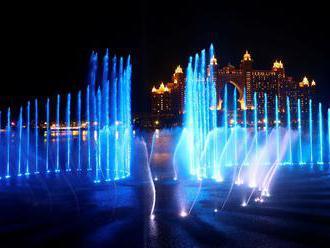 Foto: Dubaj má největší fontánu na světě, zapsali ji do Guinnessovy knihy rekordů