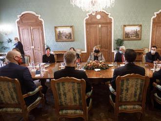 Prezidentka prijala zástupcov kultúry, kreatívneho priemyslu a športu