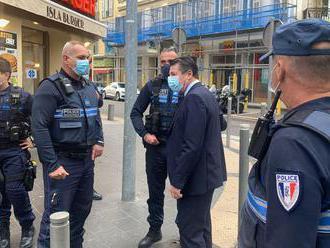 Útočník s nožom v Nice zabil troch ľudí a niekoľko ďalších zranil