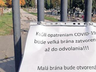 Rimavskosobotský primátor: Cintorín necháme otvorený, pokuty od nás nehrozia