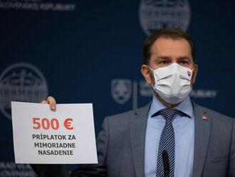 Matovič sľubuje zdravotníkom 500 eur, šéfa SLK Kollára označil za vlastizradcu