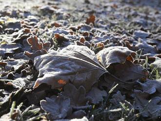 SHMÚ: V noci prvýkrát počas jesene 2020 klesla teplota pod -10 stupňov
