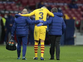 Piquemu hrozí absencia, Barcelona prišla aj o Sergiho Roberta