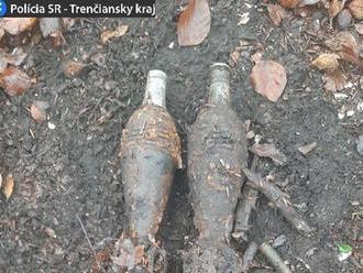 V lese pri Valaskej Belej našiel muž granáty z druhej svetovej vojny