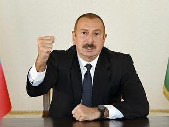 Prezident Azerbajdžanu dúfa, že prímerie pomôže zlepšiť vzťahy s Arménskom
