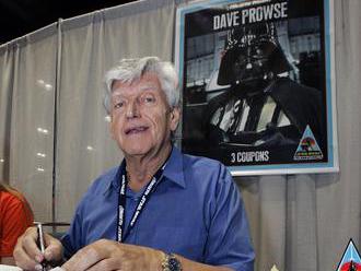 Zomrel David Prowse, ktorý stvárnil Dartha Vadera v Hviezdnych vojnách