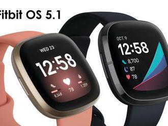 Hodinky Fitbit Sense a Versa 3 dostávají s novým updatem tři super funkce