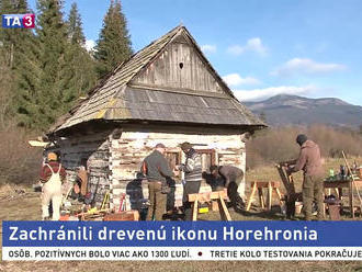 Chamkovu stodolu opravujú, záchrana prišla v poslednej chvíli